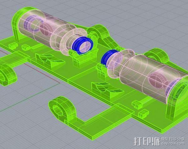 线材监测器 3D模型  图6
