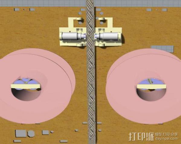 线材监测器 3D模型  图4