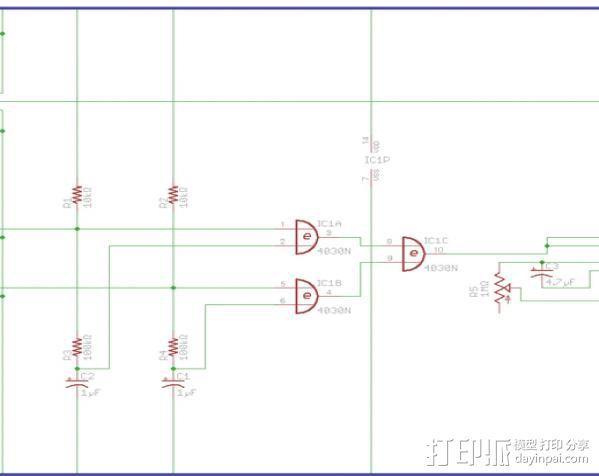 线材监测器 3D模型  图7