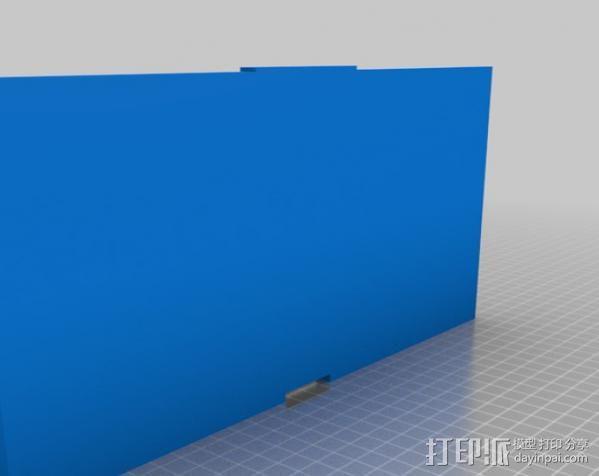 Replicator 2打印机的打印床 3D模型  图3