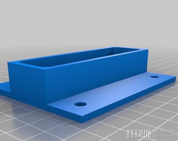 电源罩 电源保护罩 3D模型  图8