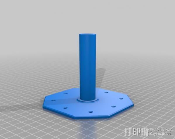 线材风干器支架 3D模型  图5
