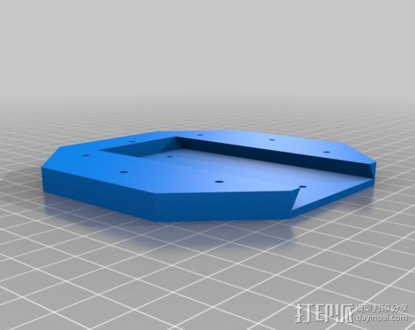 线材风干器支架 3D模型  图9