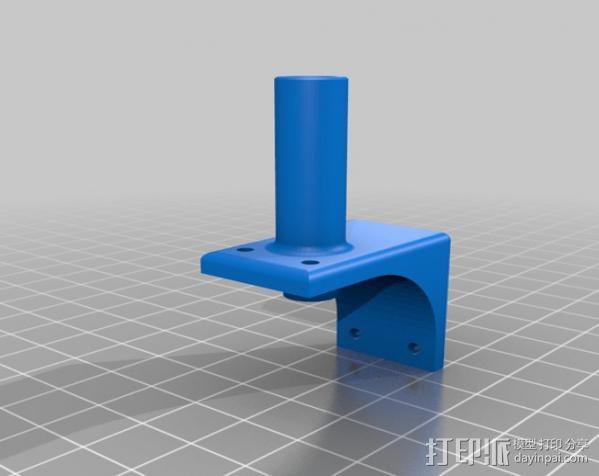 线材风干器支架 3D模型  图12