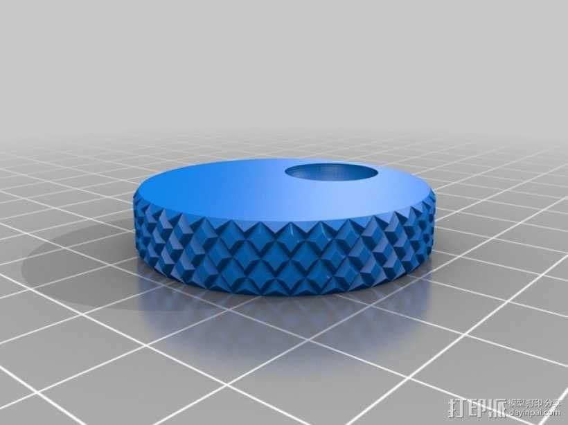 控制器旋钮 3D模型  图2