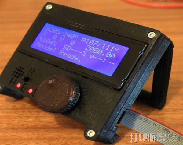 控制器电路板保护罩 3D模型  图2