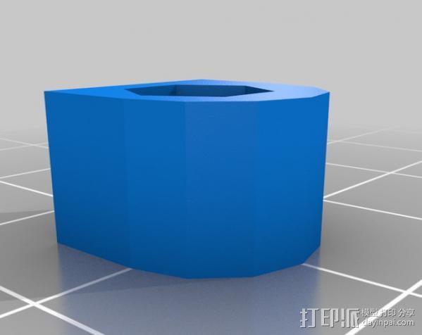 控制器电路板保护罩 3D模型  图8