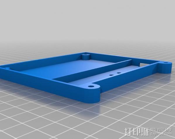 控制器电路板保护罩 3D模型  图6