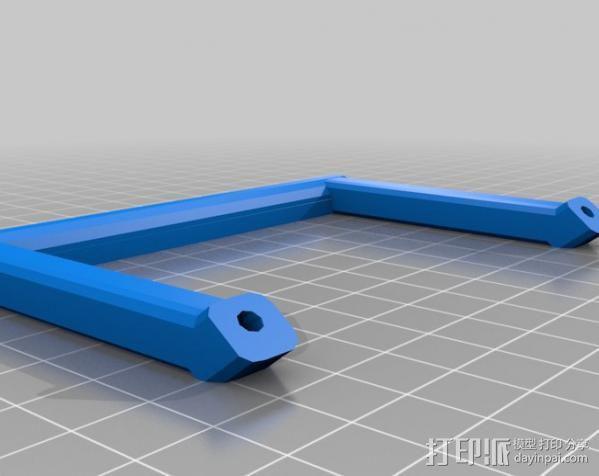 控制器电路板保护罩 3D模型  图7