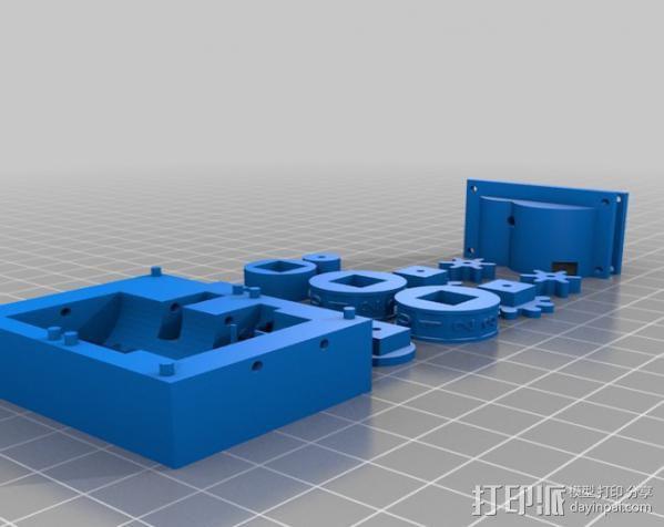 线材里程表 3D模型  图2