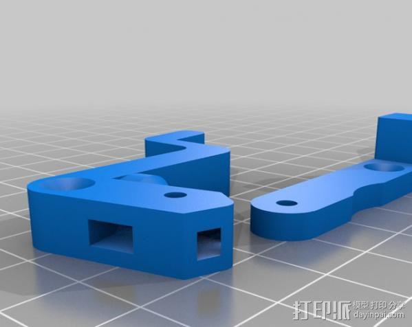 MK8挤出机 3D模型  图2