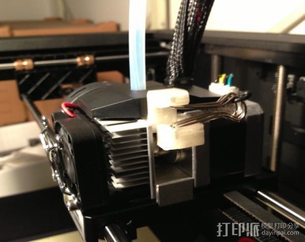 MK8挤出机 3D模型  图6