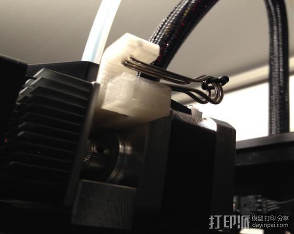 MK8挤出机 3D模型  图5