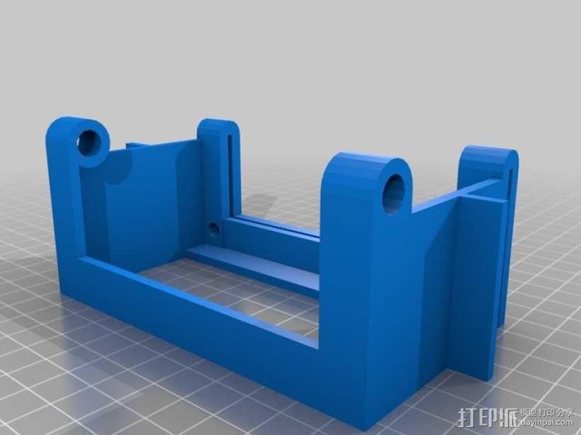 打印机热床罩 3D模型  图3