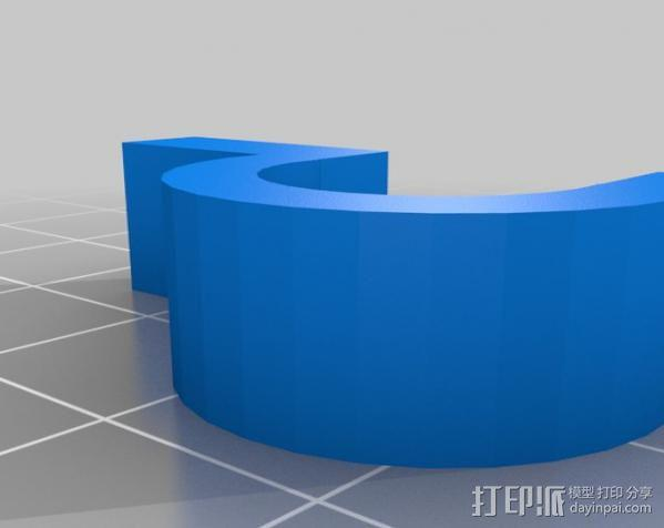 电缆保护器 3D模型  图6