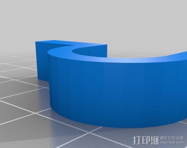 电缆保护器 3D模型  图7