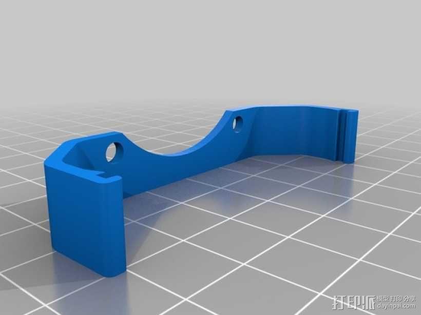 电路板风扇支架 3D模型  图1
