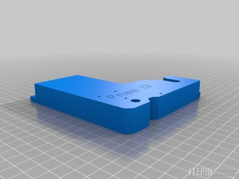 prusa i3打印机的框架结构 3D模型  图2