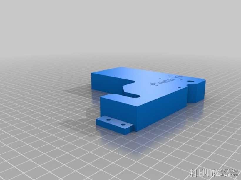 prusa i3打印机的框架结构 3D模型  图3