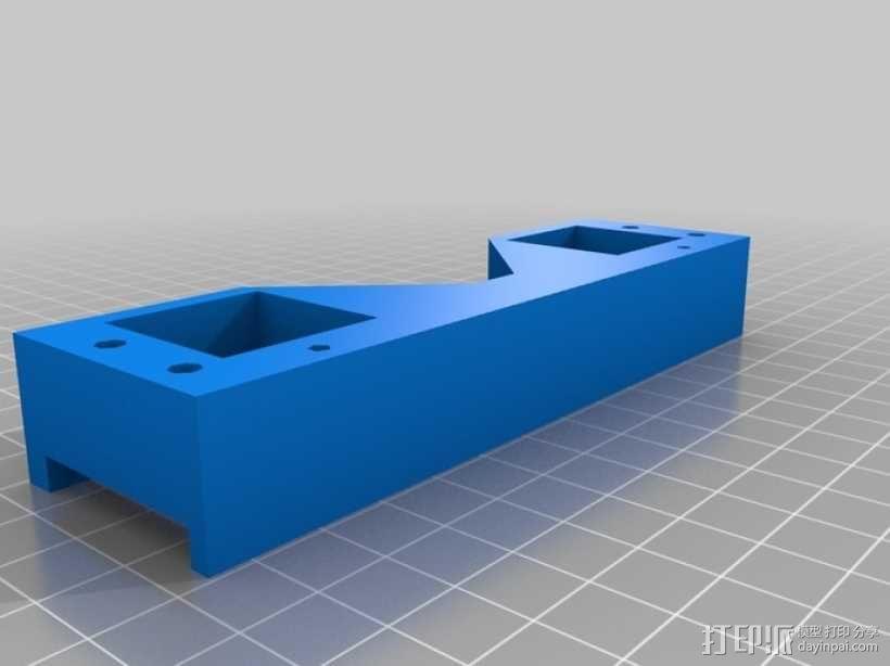 prusa i3打印机的框架结构 3D模型  图4