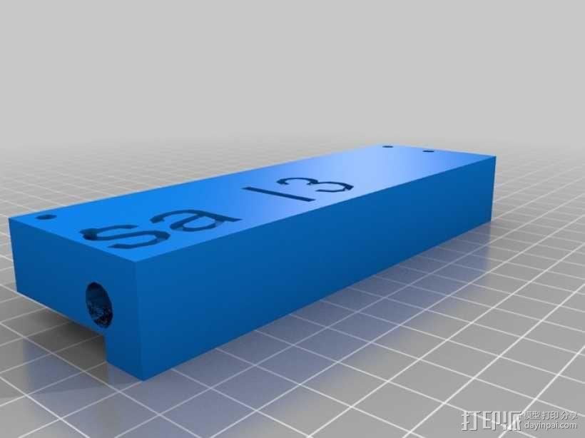 prusa i3打印机的框架结构 3D模型  图9