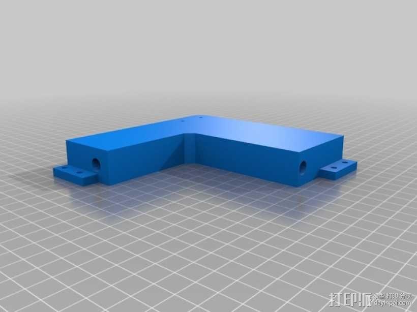 prusa i3打印机的框架结构 3D模型  图8