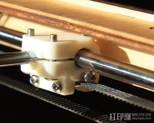 轴杆套管 皮带张紧器 3D模型  图3