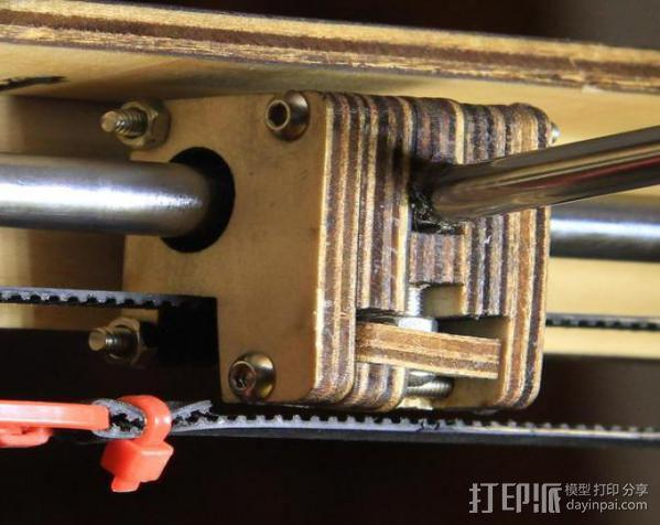 轴杆套管 皮带张紧器 3D模型  图4