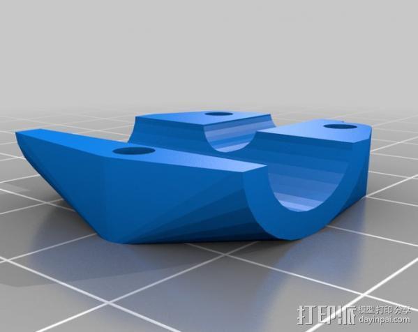 轴杆套管 皮带张紧器 3D模型  图5