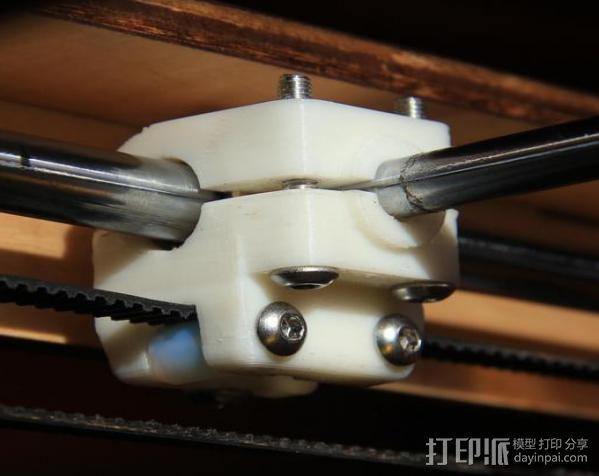轴杆套管 皮带张紧器 3D模型  图2