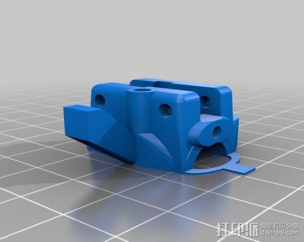 轴杆套管 皮带张紧器 3D模型  图8