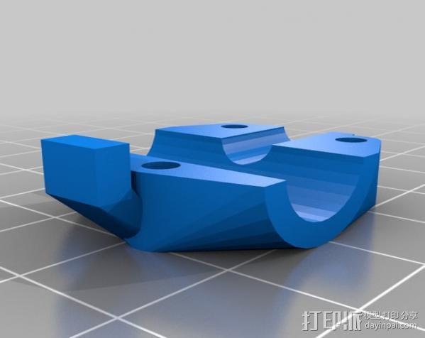 轴杆套管 皮带张紧器 3D模型  图6