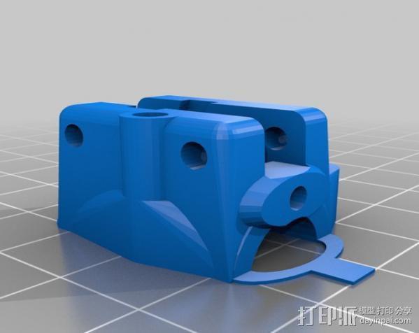 轴杆套管 皮带张紧器 3D模型  图7
