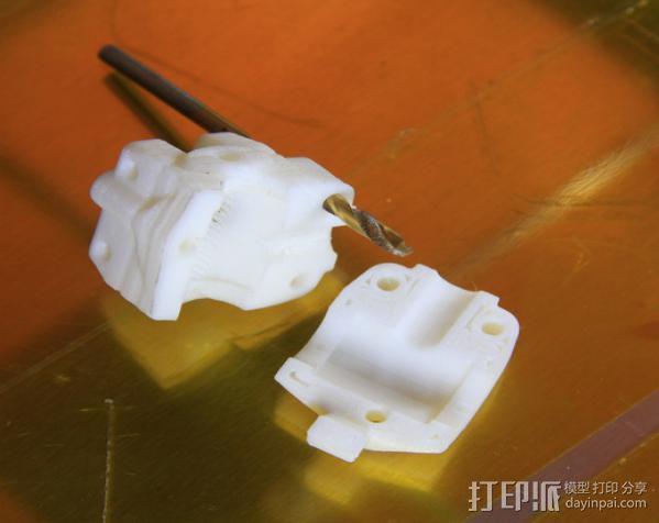 轴杆套管 皮带张紧器 3D模型  图11