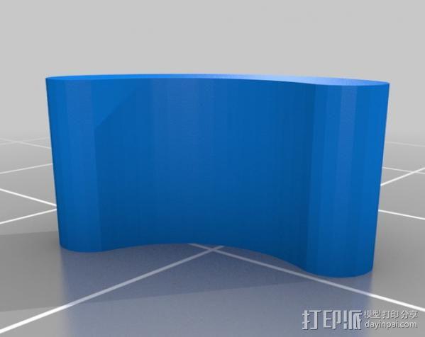 轴杆套管 皮带张紧器 3D模型  图9