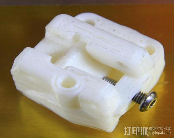 轴杆套管 皮带张紧器 3D模型  图13
