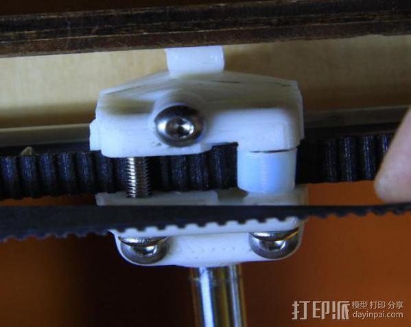 轴杆套管 皮带张紧器 3D模型  图14
