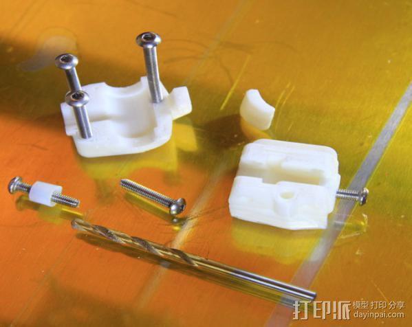 轴杆套管 皮带张紧器 3D模型  图12
