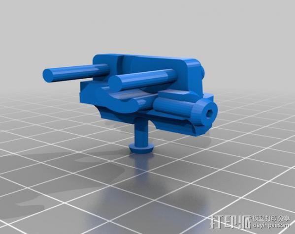 轴杆套管 皮带张紧器 3D模型  图15