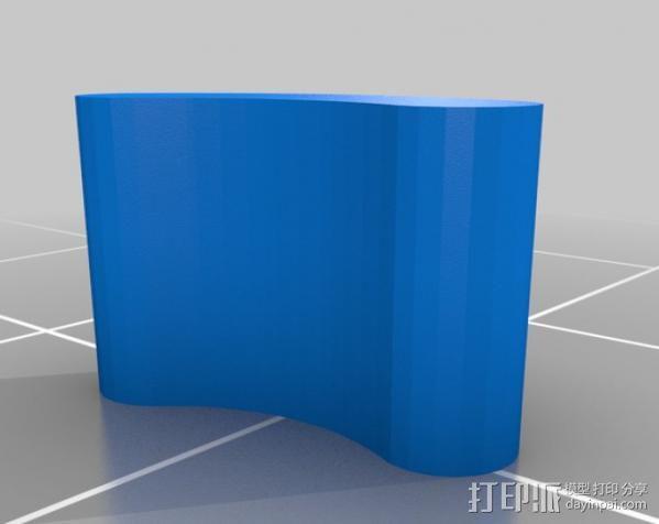 轴杆套管 皮带张紧器 3D模型  图16