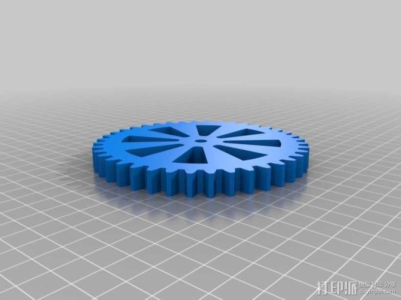 线轴  3D模型  图4
