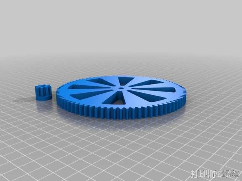 线轴  3D模型  图8