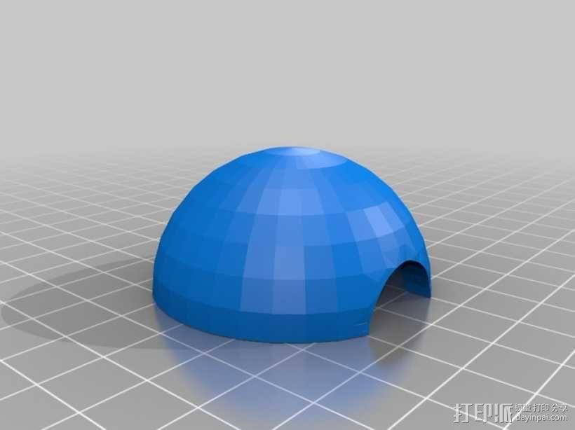 口袋妖怪球 精灵球 3D模型  图1