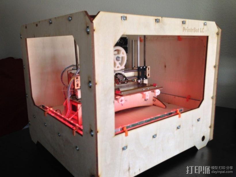 打印机外罩 3D模型  图1