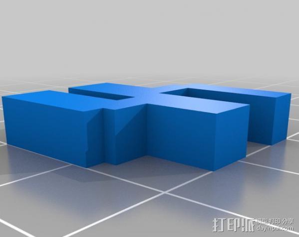 打印机外罩 3D模型  图4