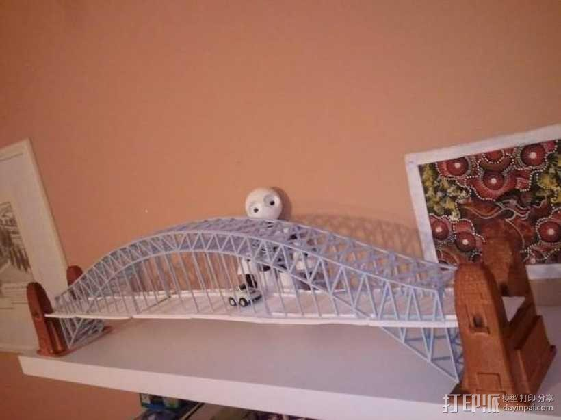 悉尼大桥 3D模型  图2