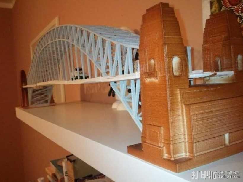 悉尼大桥 3D模型  图3