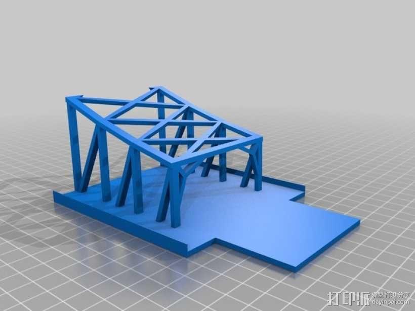 悉尼大桥 3D模型  图6