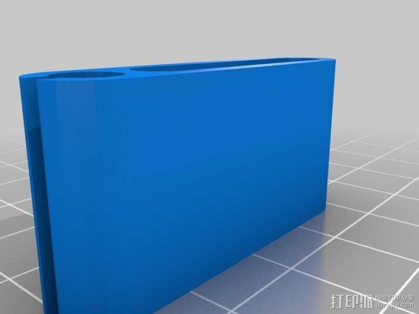 弹性PLA材料测试 3D模型  图1
