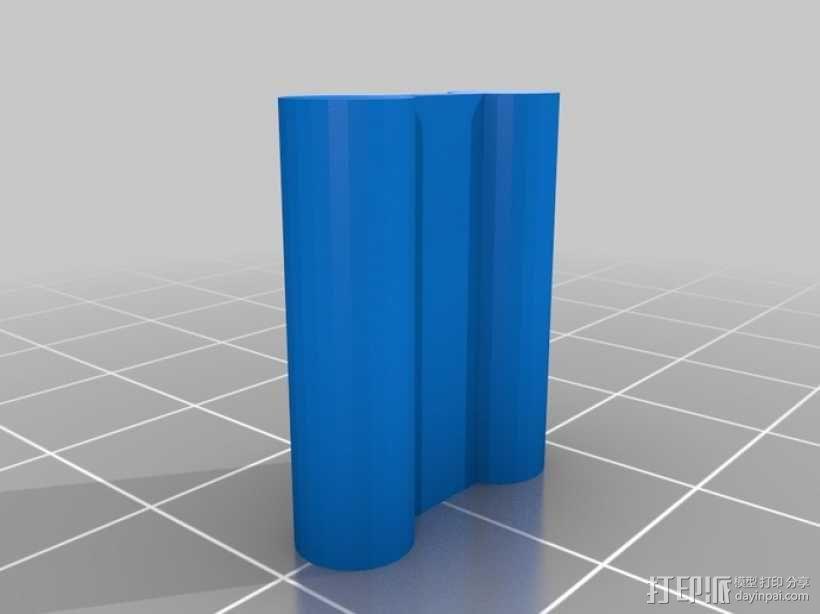 弹性PLA材料测试 3D模型  图2